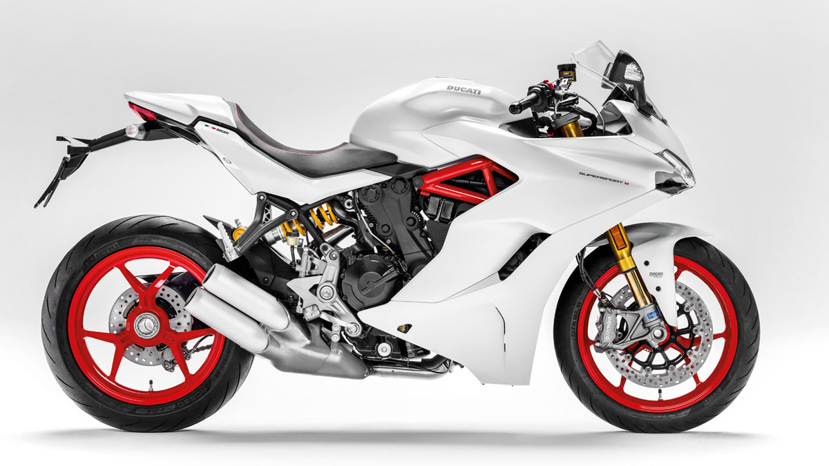 2020 Ducati SuperSport S for sale at Ducati Preston, Lancashire, Scotland