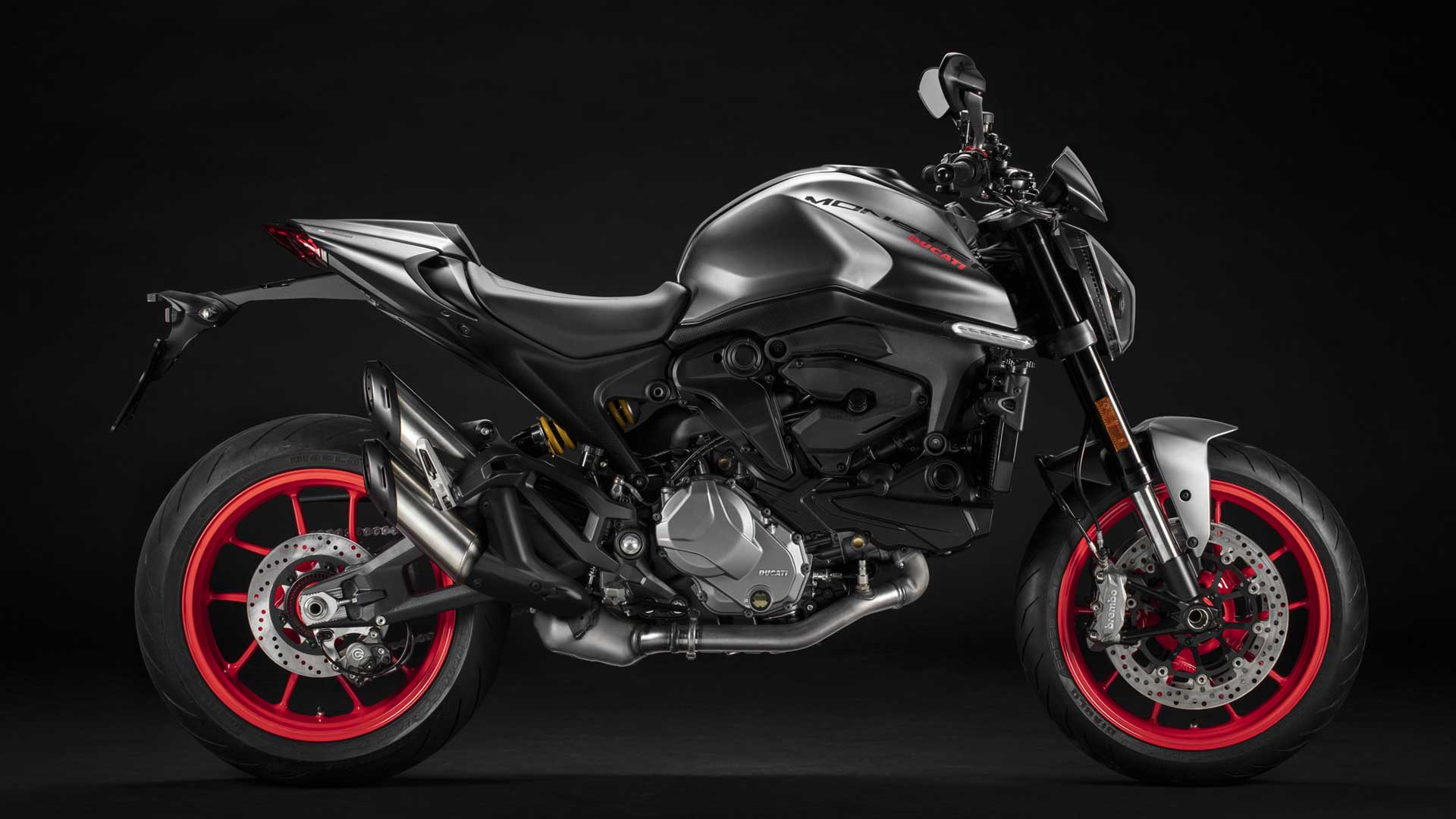 2021 Ducati Monster Plus for sale at Ducati Preston, Lancashire, Scotland